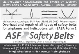 ASF Safety Belts