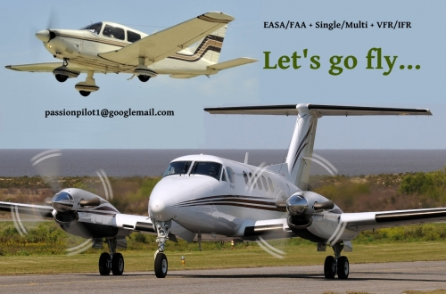 EASA/US CRI/CPL  Let's go fly