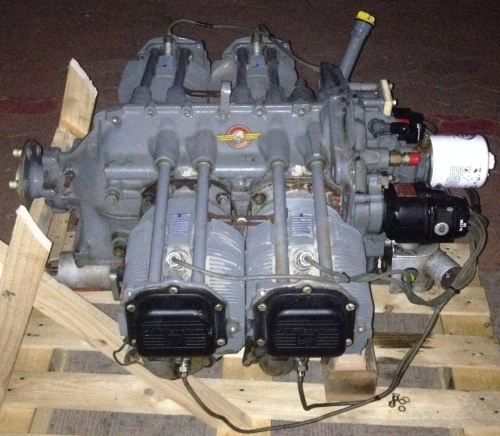 Triebwerk Lycoming 0-320 E3D