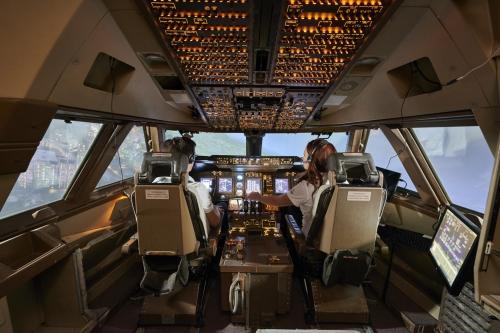 Flugsimulator Boeing 747-400