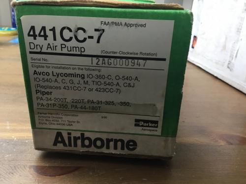 Dry Air Pump 441CC-7