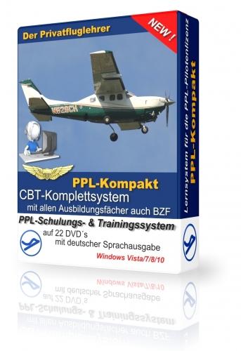 PPL-Kompakt/CBT-Lernsystem DVD