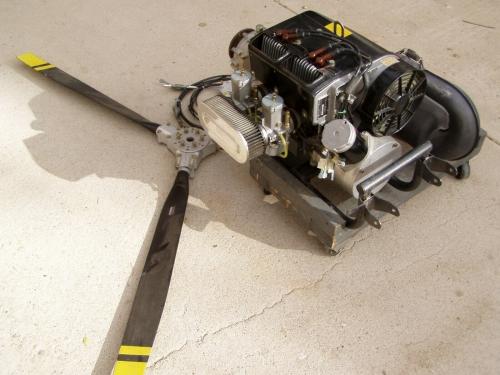 Rotax Aircraft engine power