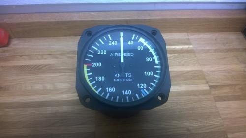 UMA Airspeed Indicator für RV7