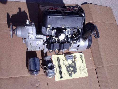 Rotax Aircraft 503 engine