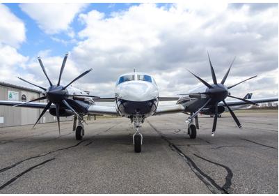 Worlds first 9 bladed prop - Flight test program started