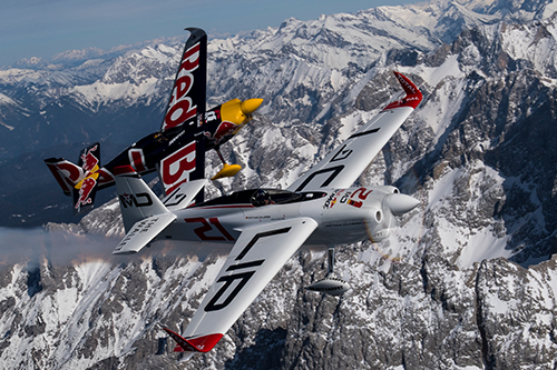 RED BULL AIR RACE 2018 - Pilots enjoy the aerial view of